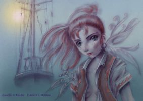 Kendre the  Pirate by clarence-mcgraw