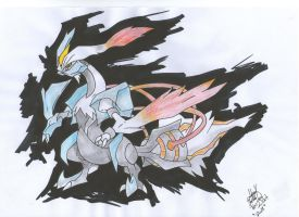 White Kyurem by palahniuksin666