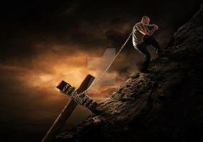 Carry Your Cross by kevron2001