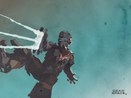 Dead Space 2 - Wallpaper by Mik4g
