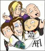 AFI wit Stewie Griffin by Anarchpeace