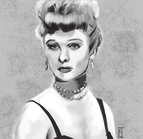 Lucille Ball by bkc3