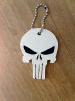 The punisher keychain by Clare-Sparda