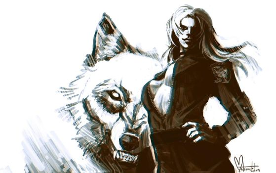 Sniper Wolf by spacecoyote