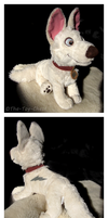 Disney Bolt Plush by The-Toy-Chest