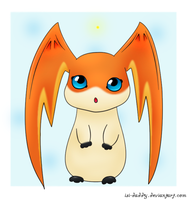 Patamon - 02 by Isi-Daddy