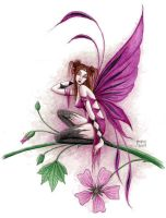 Mallow faery by dark777fairy