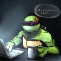 TMNT - Frustrated by NinjaTertel