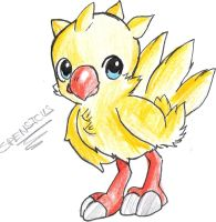 CHIBI CHOCOBO ~ BY SPENSICUS by ZolaLink