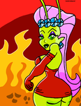 PRINCESS MANDIE HELL LOVE by NoirEclisped