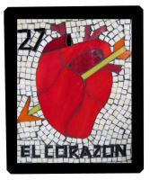 El Corazon Lotteria by SequentialGlass
