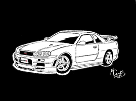 Nissan Skyline GTR-R34 Nismo Z-Tuned by CrashyBandicoot