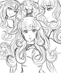 Roka Sketch Page by Art-of-Momoka