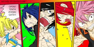 Fairy Tail Strongest Team by Satriobp