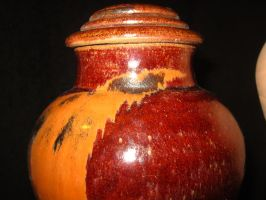 Top of lidded vase 01 by CoryTheDuck