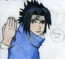 Sasuke Come on by Hatters-Workshop