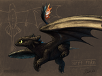 Toothless by Amphibizzy