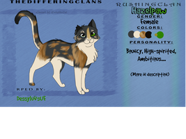 --Hazelpaw-- REF SHEET by Destynee33