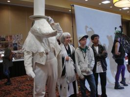 Excalibur and Company at A2F 2011 by fmagirl09