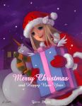 merry christmas by X-Chan-