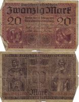 Old German Paper Money by Kit-Wit
