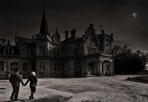 haunted mansion by arbebuk