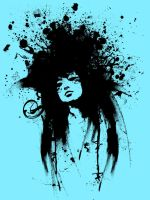 splatter rock star by voideity