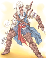 Assassin by sarumanka