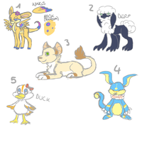 Adoptables Auction [1 LEFT] by makashy