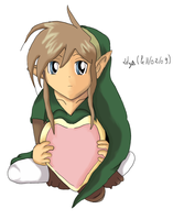 Valentine Day - Link - by Linkdezelda