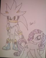Silver and Rarity by XxMisery-SeverityxX