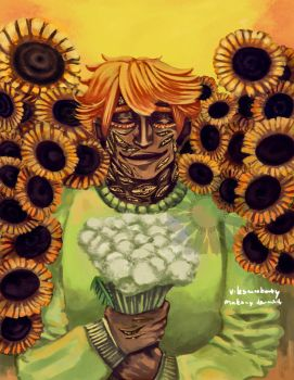 Sunflowers and sunshine by Makany