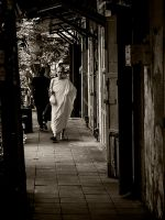 Monk In White by InayatShah