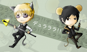 HBD - Shizuo and Izaya by Naeon23
