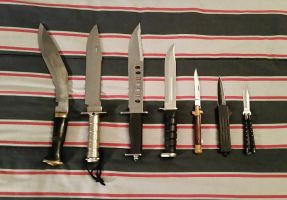 Knife Collection by GangsterLovin