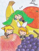 Fruits by Colorful--Melody
