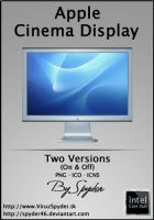 Apple Cinema Display by Spyder46