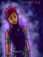 Starfire gender bender by Raving-Lunatic