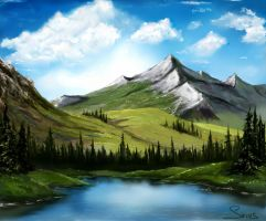 Mountains by AlinaGorn