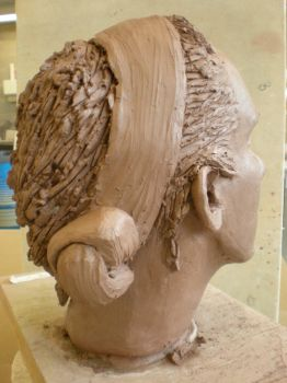 clay head view 5 by manx0meFoe