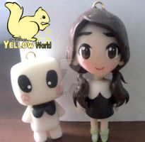 IU and Marshmallow by yuisama