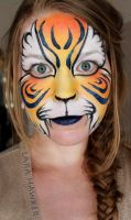 Ronnie Mena inspired tiger by larahawker