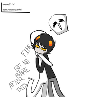 Ask from ~crankykankri by askGAMZEE-MAKARA-ask