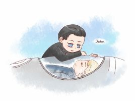 [CROSS OVER] John harrison by twosugars16