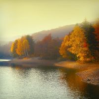 Autumn on the Lake II by Callu