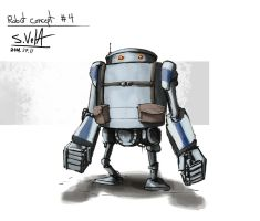 Robot Concept 4 by gamespeaker13