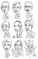 'Caricatures'...yes. by BenjaminCee