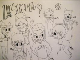 Live Stream Family by MarluxiaBeast