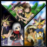 Yu-gi-oh COUPLES :D by nikra
