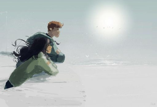 Foggy but sunny... by PascalCampion